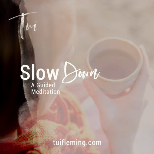 Tui Fleming Slow Down Autumn Seasonal Guided Meditation